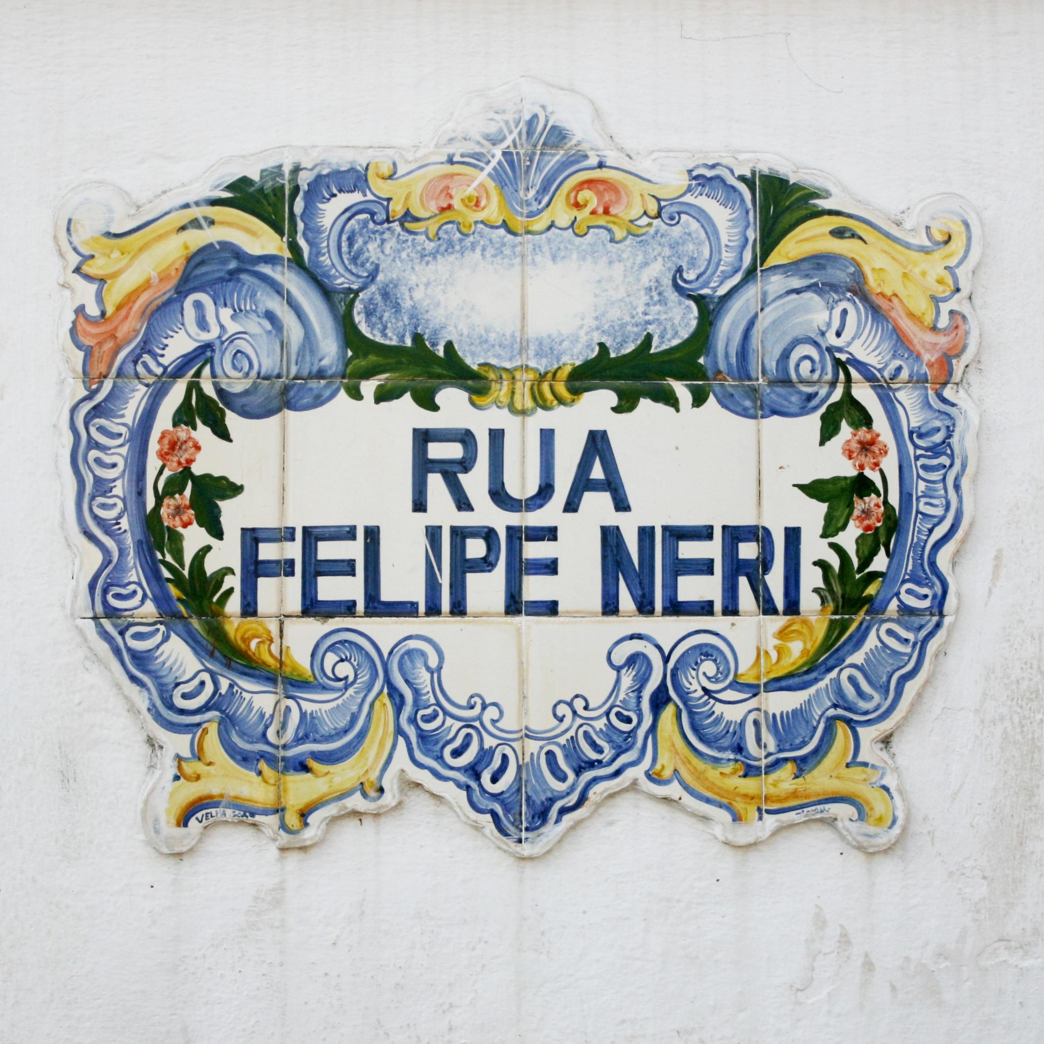 Rua Felipe Neri