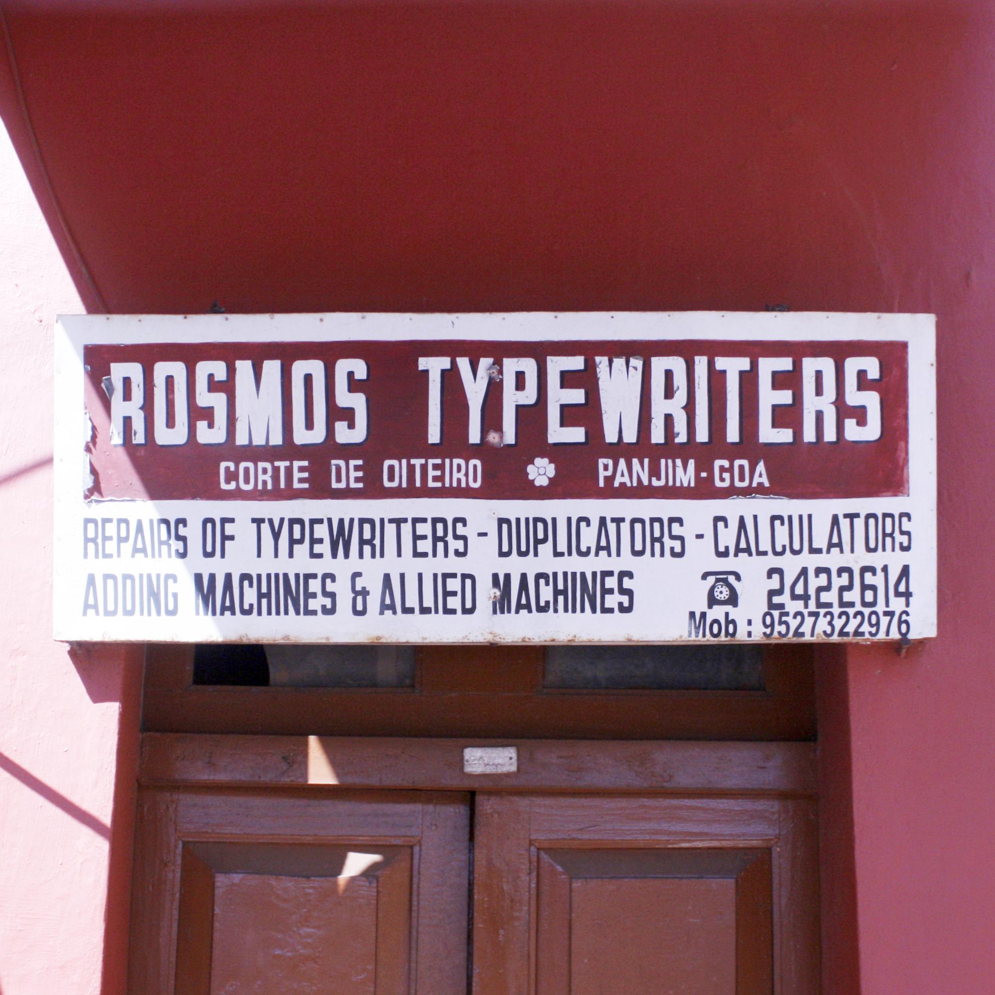Rosmos Typewriters